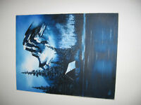 BEAUTIFUL CANVAS PAINTING-REDUCED!