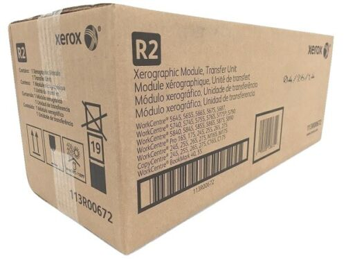 Genuine OEM Xerox 113R00672 113R672 Black Xerographic Module / Drum cartridge