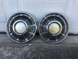 Vintage 1 pair Chevrolet Motor divison - $25 (vancouver)