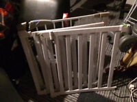 Safety gate baby toddler bundle