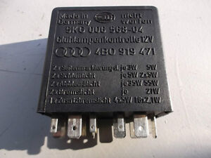 AUDI A4 A6 A8 1998- 2002 LIGHT CONTROL RELAY