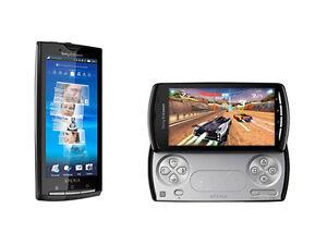 Sony Ericsson Xperia X10 vs. Sony Ericsson PLAY