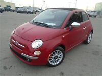2013 Fiat 500 C LOUNGE CONVERTIBLE CUIR