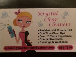 Krystal Clear Cleaning - Now accepting new clients St. John's Newfoundland image 1