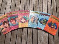 Goosebumps Books Bundle RL Stine