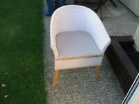 Wwicker chair commode, excellent condition