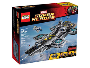 BRAND NEW Open Box Lego Super Heroes The SHIELD Helicopter