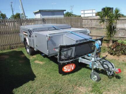 SUV TRAVELLER DELUXE CAMPER TRAILER WITH AIR CON - SPECIAL $24995 Parkhurst Rockhampton City Preview