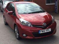 Toyota YARIS VVT-I SR (red) 2012