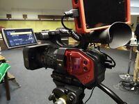 Panasonic DVX200 4K hand held MFT run and gun camera