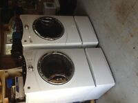 GE Front Load Dryer and drawer
