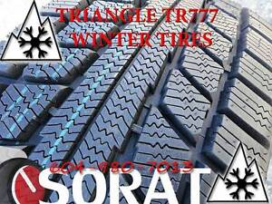 WINTER - TIRES 215/55/16 TRIAGLE TR777 SNOW LION FREE INSTAL