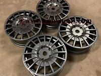 "18 20"" Inch OZ M-Sport MSRT Alloy wheels Ford Transit Custom Van centre bore 65.1 5x120 Gunmetal"
