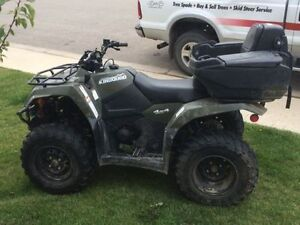 Suzuki King Quad 400 with 3000lb winch