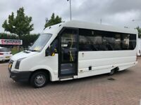 Jun 2012 Volkswagen Crafter Cr50 12 to 24 seat mini bus wheelchair lift