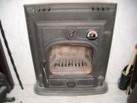 Wood/Solid Fuel Burner (inset)