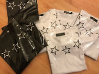Givenchy men's T-shirts most sizes available printed stars front and back £40 ono