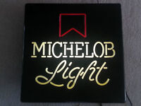 Michelob Light Up Sign (Works)