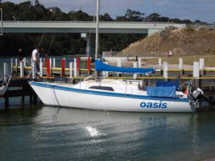Binks 25 trailer sailer