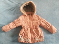 Tu girls coat for 4-5 years old