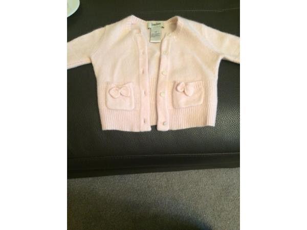 100% Cashmere baby girl Neiman Marcus cardigan