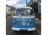 1972 RHD 1641cc crossover RHD Westfalia conversion T2 Bay