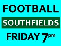 Play football in South London every Friday evening! We need players!