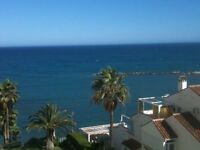 LOVELY 2 BEDROOM APARTMENT. BENALMADENA-COSTA BEACH FRONT