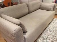 quality sofa bed/ converts to single bed