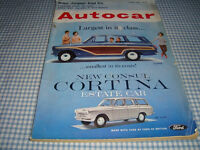 Autocar Mag, 31May1963, Cortina, Daimler 2.5 litre Road Test, foreign cars, Monaco Grand Prix, etc.