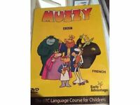 Muzzy French BBC DVD & Book Language Course for Children Set 1&2