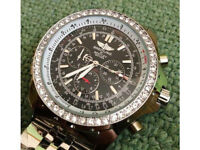 Breitling For Bentley Motors Watch Black/White