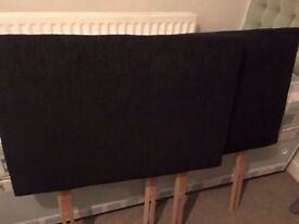 "Pair or 2ft6"" small single headboards"