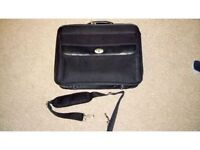 Antler Briefcase/ laptop bag, sturdy with compartments - excellent condition