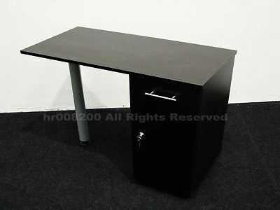 BRAND NEW BLACK MATT Manicure Technicians Table Station Nail Bar .