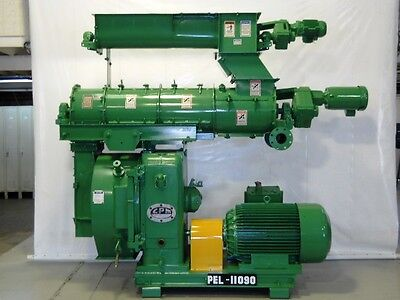 Cpm Model 3020 Pellet Mill 150 Hp 1185 Rpm 20 Die With Feeder Conditioner