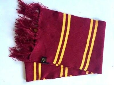 Costume Harry Potter Gryffindor Cosplay Scarves Warm Knit Scarf Wraps Authentic - Authentic Harry Potter Costumes