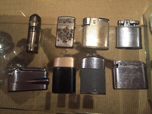 Lot of 8 lighters circa 195-1960s