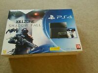 Sony playstation 4, Ps4 console with game, mint and boxed