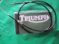 TRIUMPH UNIT 650 6T TR6 T120 T120R T120T CLUTCH CABLE 1965-67 60-0565