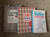 Baby name books and the expectant father