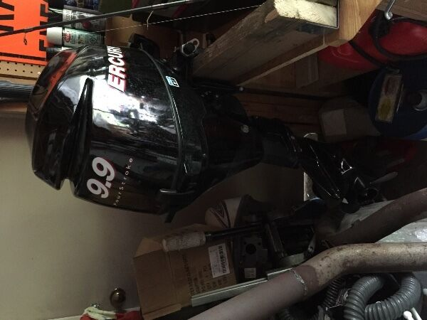 Used 2010 Mercury 9.9 4 stroke
