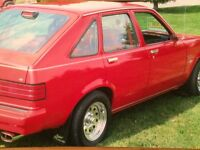 Mint rust free chevette
