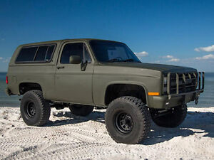 1976 Chevrolet Blazer SUV, Crossover parting out