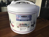 Rice cooker/steamer/shabushabu/warmer