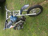 Giovanni 125cc Dirt bike