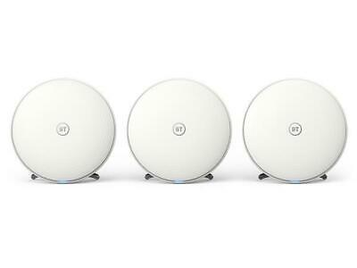 BT Whole Home WiFi System - Triple Pack - RRP£199 - NO...