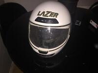 Lazer Attack motorbike helmet (medium)
