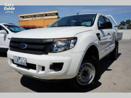 2014 FORD RANGER HI-RIDER Dual Cab Alloy Tray Ute Diesel Auto