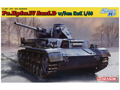 Pz.Kpfw.Iv Ausf.A Armoured Version Kit 1:35 Dragon D6816 Model